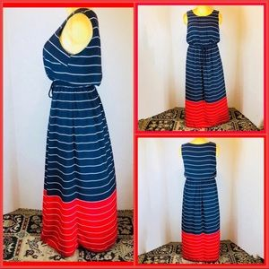 NWOT TOMMY HILFIGER FULL LENGTH DRESS
